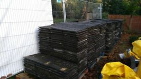 Second hand roof tile