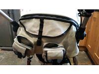Quinny 3XL Pushchair, MaxI-Cosi car seat & Quinny carry cot ALL-IN ONE