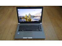 Like New Toshiba Tecra Z40-C-105 Core i5-6200U 4GB 128GB SSD 14 Inch Windows 7 Professional Laptop