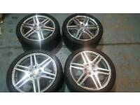"18"" Genuine Mercedes E-Class AMG Alloy Wheels & Tyres"