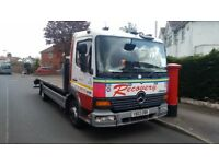 Mercedes Atego 815 7.5 Ton Recovery Truck Excellent Condition New MOT LEZ