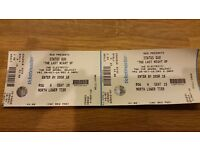 2 x Status Quo Belfast Tickets (seated). Well under face value.