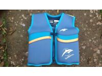 • Childs buoyancy aid Jacket. The Original Konfidence. Up to 3 years. 'B' up to 25 kgs body weight