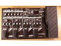 Boss ME-70 Guitar Multi Effects Pedal Box