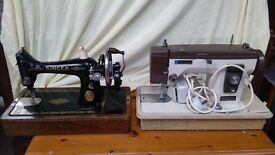 singer sewing machine and new home