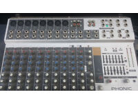 Phonic Powerpod 10 Channel 300w Mixer