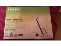 N600 Wireless Dual Band USB Adapter