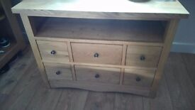 Oak furniture land Caro tv unit £125