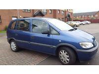 2003 Vauxhall ZAFIRA 1.6 Petrol 7 Seater MPV 6 Months MOT Full Service History 91000 Miles