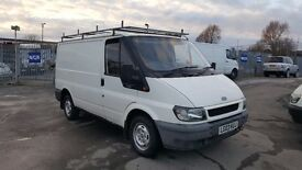 ford transit swb in very good condition inside and out with low mileage