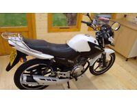 Yamaha YBR125 ybr 125 2015 low mileage learner legal 125cc
