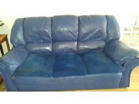 3 Piece Sofa & 2 Reclining Chairs