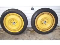 Spare wheels with tires for Trailer/Caravan/Car