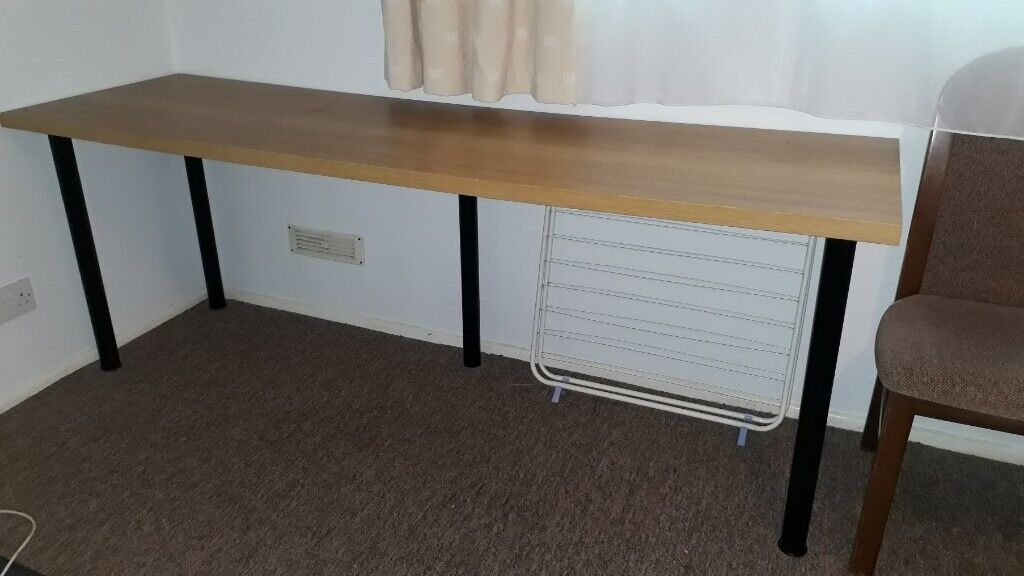 official photos 5f91f d83fc Long study table | in Bournemouth, Dorset | Gumtree
