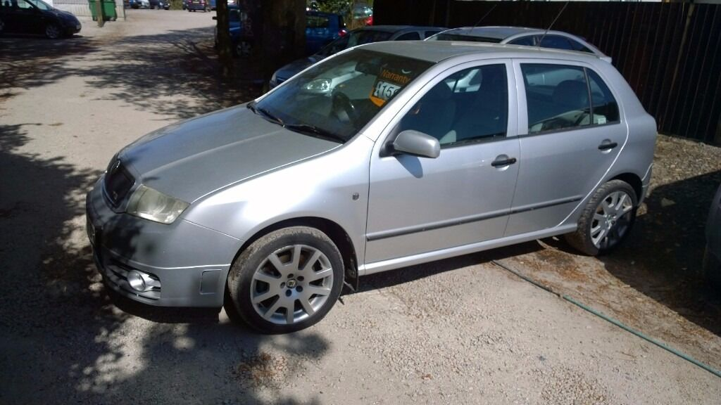 Skoda Fabia vrs 2004-04-reg, 1900cc turbo diesel, New mot on purchase, only 131,000 MILES