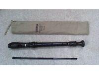Yamaha descant/soprano recorder