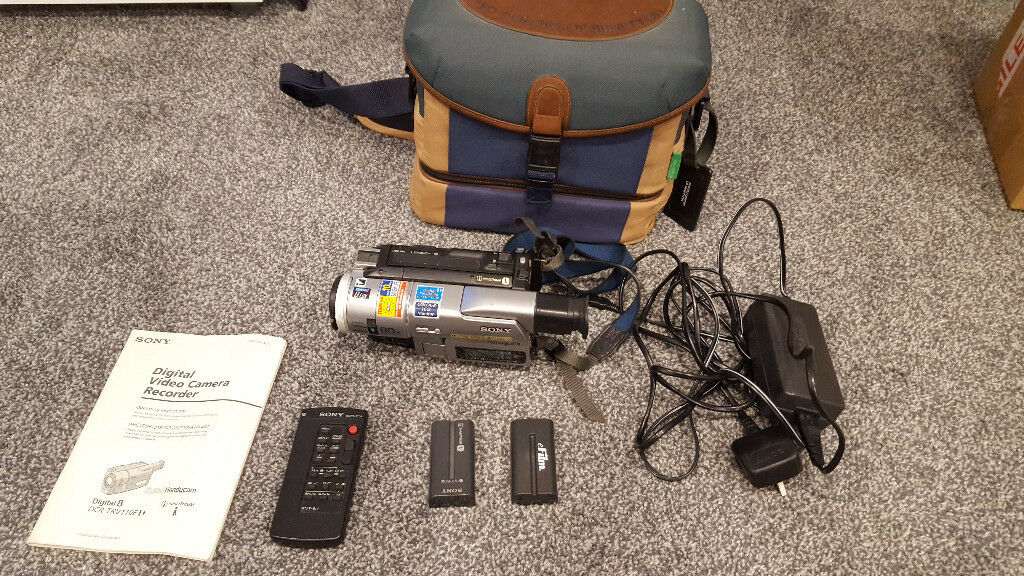Sony DCR-TRV110E Digital 8 Camcorder - Plays Video8 & Hi8 Tapes, DV  connection | in Slough, Berkshire | Gumtree