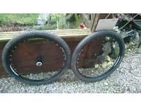 27.5 wheelset no rotors