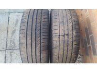 2 x Kinforest KF550 225/40ZR18 Tyres
