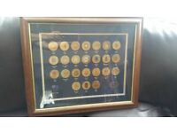 Official Olympic Games Emblem Medalions set 1896-2000