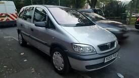 Vauxhall zafira 1.6 78000 miles