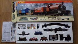 Hornby City Industrial OO Gauge Train Set