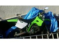 Kdx ///kx 250 registered as 125