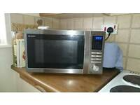 Sharp R-722STM MICROWAVE OVEN WITH GRILL