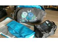 Baby change bag and accessories