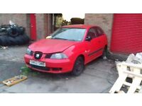 Seat ibiza breaking 1.2 ( breaking ) all parts available