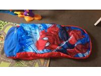Spiderman ready air bed