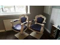 Salon hair chairs / salon furniture