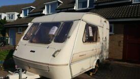 Elldis Whirlwind XL 2 berth caravan