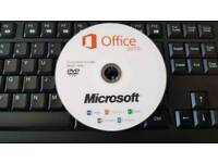 Office 2016 pro word excell powerpoint outlook .. i3 i7 i5 laptop pc amd intel