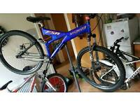 Specialized fsr ground contol 98 special jump bike custom trail single speed