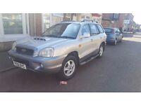 For sale hyundai santa fe 2.0 diesel 4X4