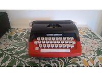 Corgi Commander Red Kids Typewriter