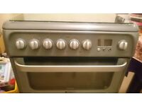 Hotpoint Ultima oven and gas hob (600mm)