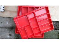 Lego storage trays