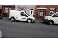 2004 ford transit connect with tow bar and roof rack cheap van