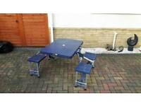 4 seat folding table