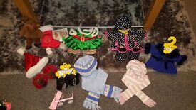 Huge selection of Build-a-bear outfits, shoes and accessories (inc Star wars) along with a Bear