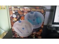 Bubbling Foot Massager - BRAND NEW