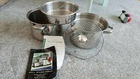Steamer saucepan set Debenhams
