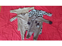 Baby Boy 0-3 months clothes bundle *39 ITEMS* used in Excellent Condition