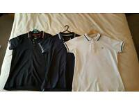 Diesel polo shirts x3 Large