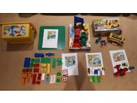 Lego Duplo large collection, 7 sets, bob the builder, bus, base plate, my first plane etc