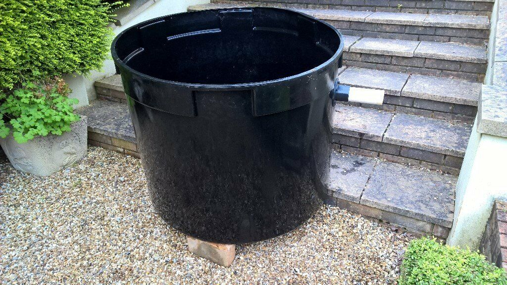 100 Gallon circularpoly water tank (used) - suitable for fish pond filter  or stock storage | in Broadstone, Dorset | Gumtree