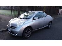 NISSAN MICRA (SPORT) CONVERTIBLE - 56-REG - 2006 (NEW SHAPE) 2 DOOR - 1.6 LITRE - £1495