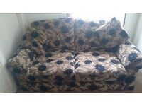 2 Seater Quality Sofa, BARGAIN, CAN DELIVER EDINBURGH